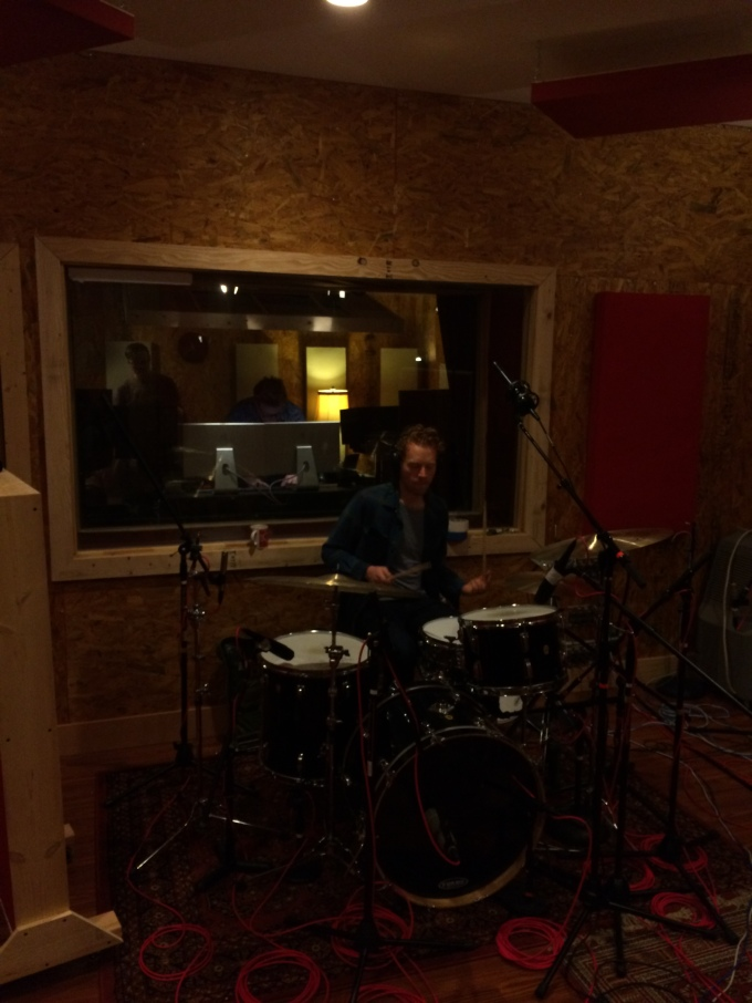 Recording Drums w/ James McAlister (pic 3)